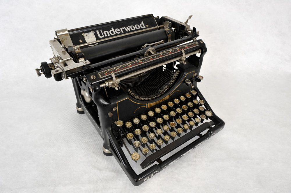 Top 20 des inventions qui ont r volutionn le monde wepost - Machine a ecrire underwood ...