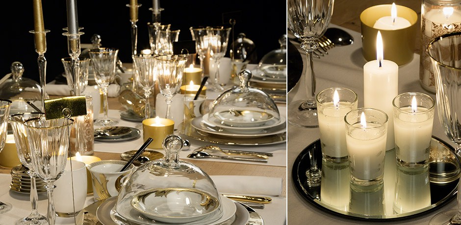 Id es d co pour une table de r veillon wepost - Deco table reveillon ...