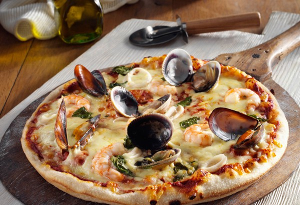 Comment réaliser une pizza fruits de mer maison!