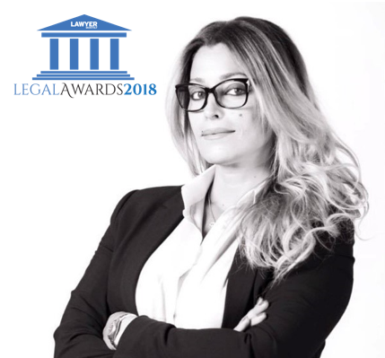 Soundès Majdoub élue avocate de l'année par le lawyer Monthly Legal Awards 2018
