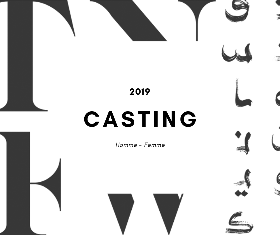 Lancement du casting de la FASHION WEEK 2019